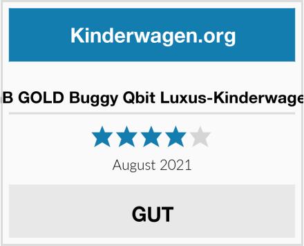 GB GOLD Buggy Qbit Luxus-Kinderwagen Test