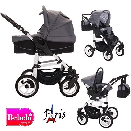 bebebi paris kinderwagen test 2018. Black Bedroom Furniture Sets. Home Design Ideas