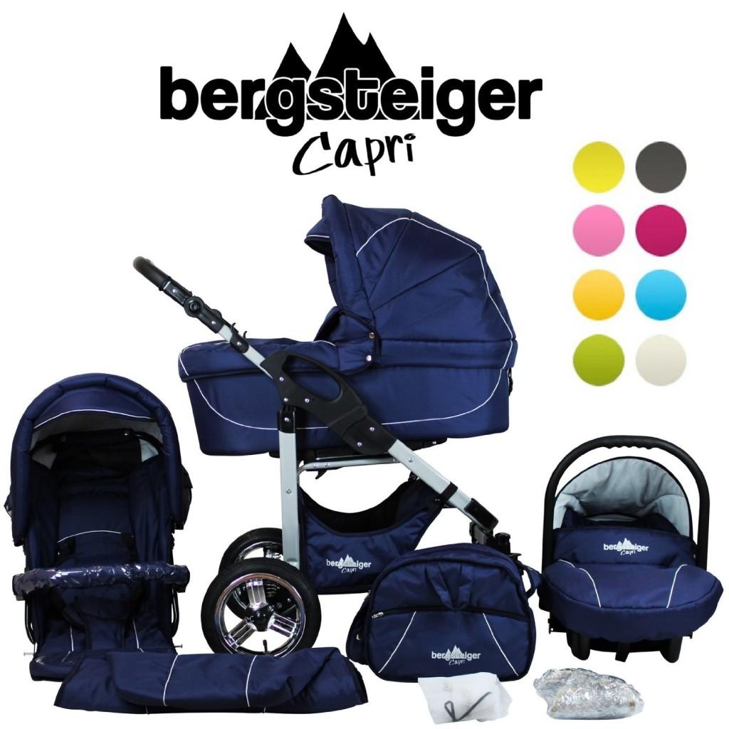 bergsteiger capri kinderwagen test 2017. Black Bedroom Furniture Sets. Home Design Ideas