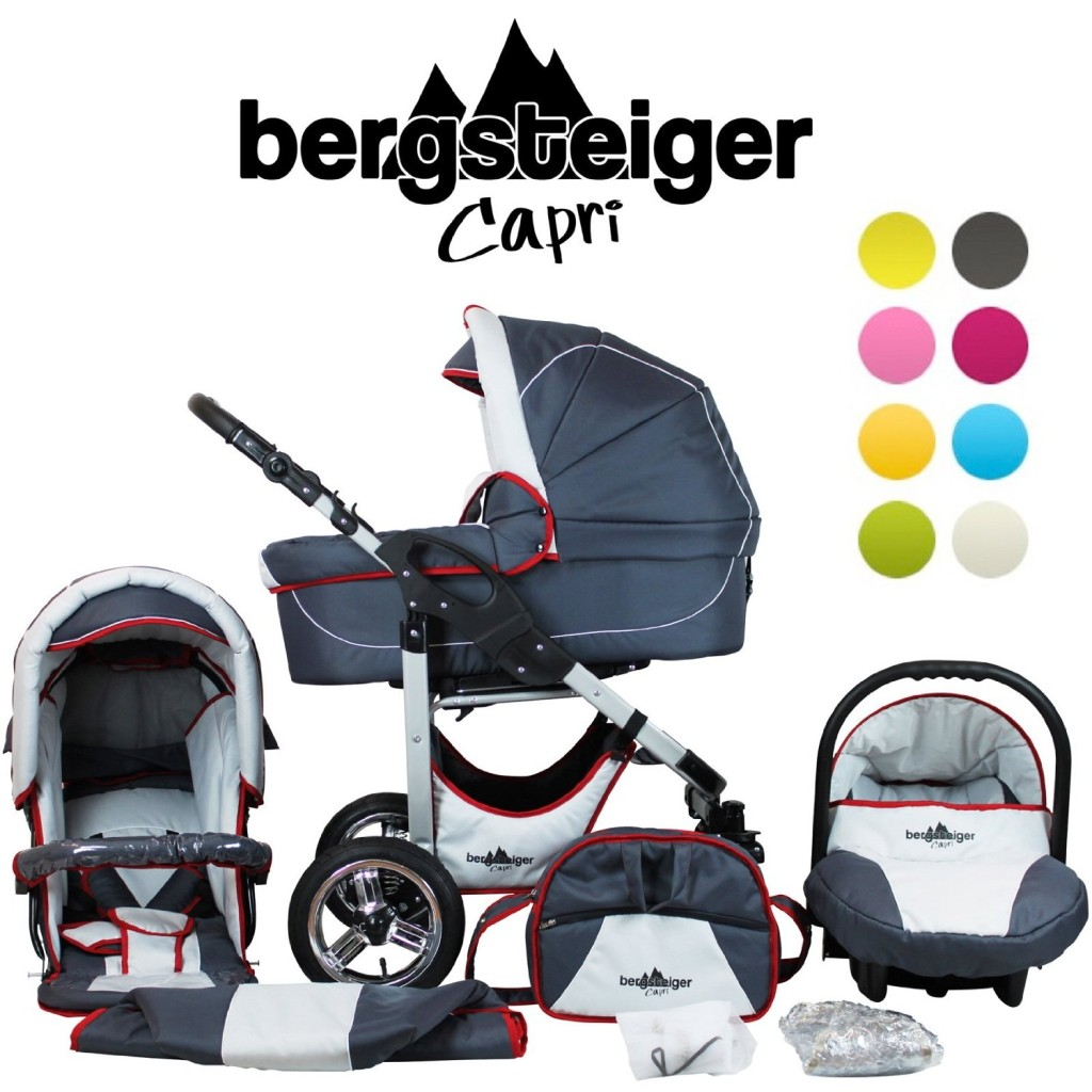 bergsteiger capri kinderwagen test 2016. Black Bedroom Furniture Sets. Home Design Ideas