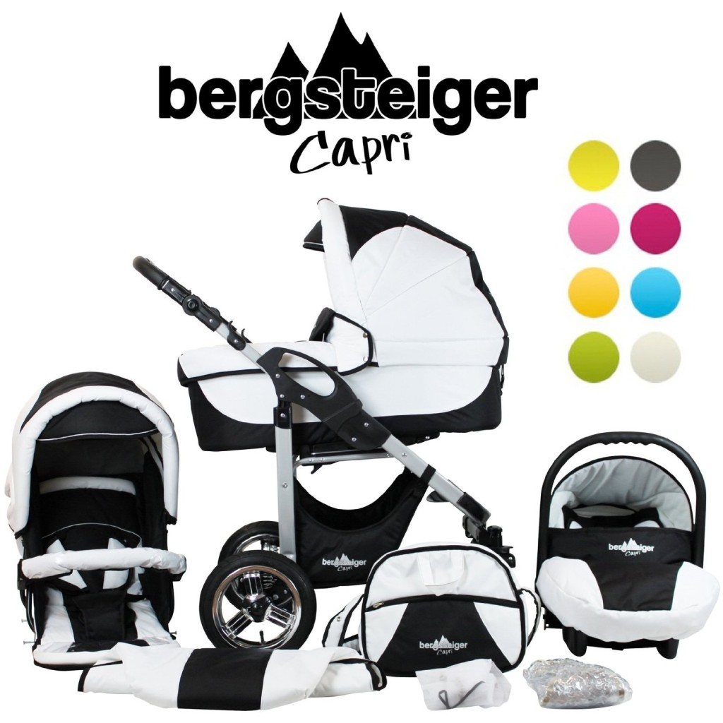 bergsteiger capri kinderwagen test 2018. Black Bedroom Furniture Sets. Home Design Ideas