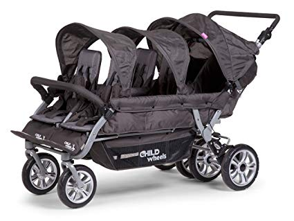 Childwheels Sechslingswagen für Tagesmütter / Krippen