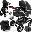 "KESSER 3 in 1 Kinderwagen Set ""Loops"""