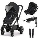 kiddy Evostar 1 Kinderwagen + Evoluna i-Size Autositz + Isofix Base 2 + Adapter