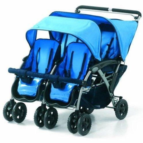 Foundations Vierlingskinderwagen
