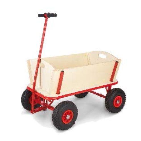 RAMROXX 34185 Holz Karre Handwagen