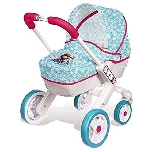 Smoby 511345 Puppenwagen Design Die Eiskönigin