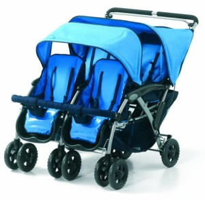 Vierlingskinderwagen & Vierlingsbuggy